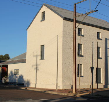 State Listed Mill Building, part of the Sheep's Back Museum in Naracoorte